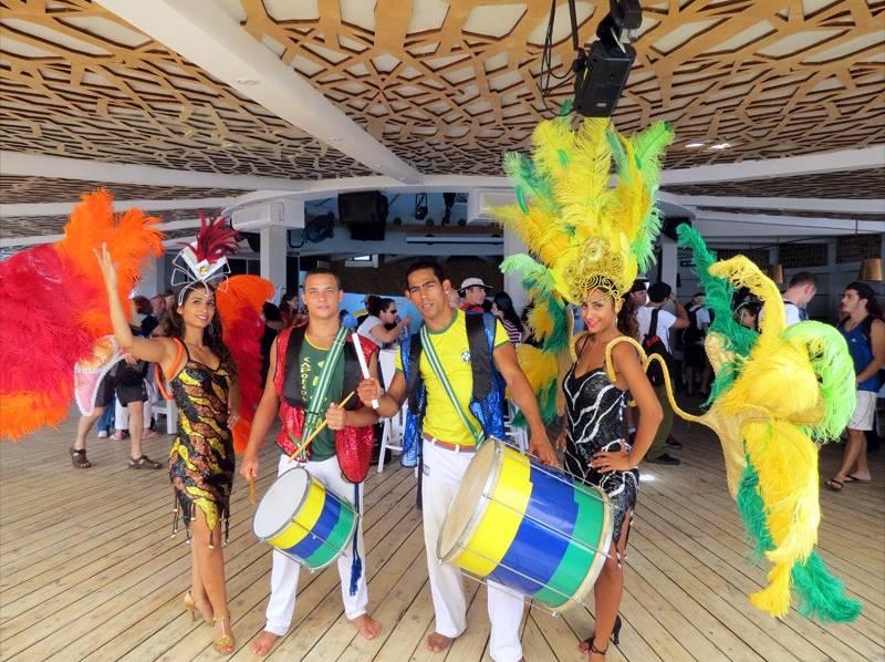 ימי כיף וגיבוש - מתופפים ורקדניות ברזילאיות
