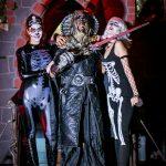 טירה אפלה פירטים - שלוש דמויות שלד