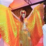 אירוע קונספט - רקדנית פרפר האש