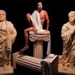 אירוע קונספט - דמות יוונית