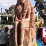 אירוע קונספט - פסל פרעה