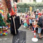 תפאורה לאירועים - מופע המכשפה לילדים