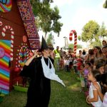 אירוע קונספט - מכשפה בהצגה לילדים