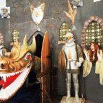 אירוע קונספט - טירת הנסיכה, דרקון ואביר